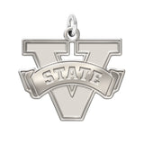 Valdosta State Blazers Sterling Silver Natural Finish Charm