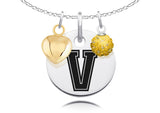 Vanderbilt Commodores Necklace with Charm Accents