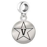 Vanderbilt Commodores Round Drop Charm