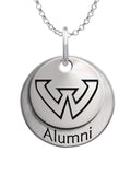 Wayne State Warriors Alumni Necklace