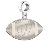 Wisconsin Badgers Dangle Charm