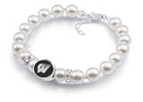 Wisconsin Badgers Pearl Bracelet