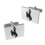 Wyoming Cowboys Cuff Links