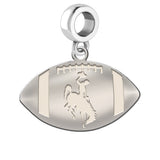 Wyoming Cowboys Dangle Charm