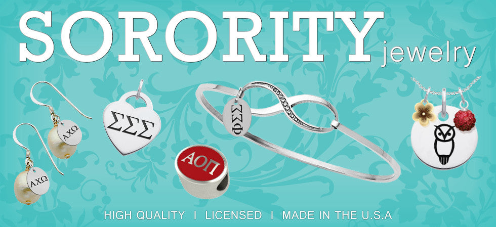 Sorority Greek Jewelry