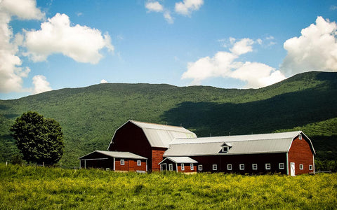 Vermont Landscape By Nicholas Erwin - https://www.flickr.com/photos/nickerwin/