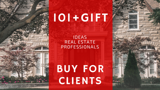 101+ gifts ideas real estate professionals buy for their clients