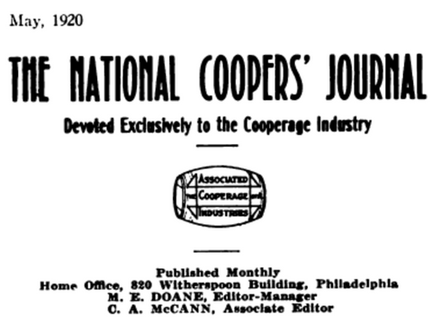 National Cooper's Journal