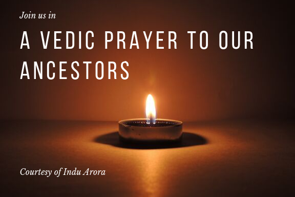How to do a Vedic Prayer to our Ancestors