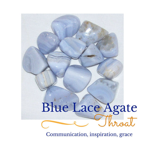 Blue Lace Agate Collection
