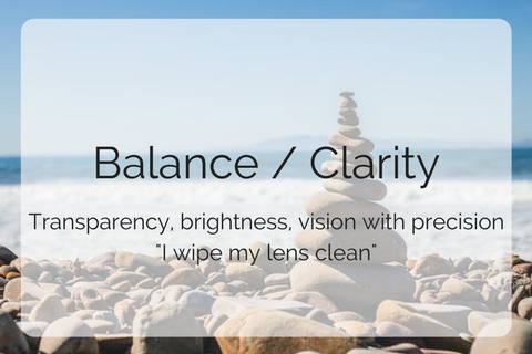 Balance / Clarity collection