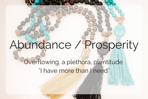 Abundance / Prosperity Collection