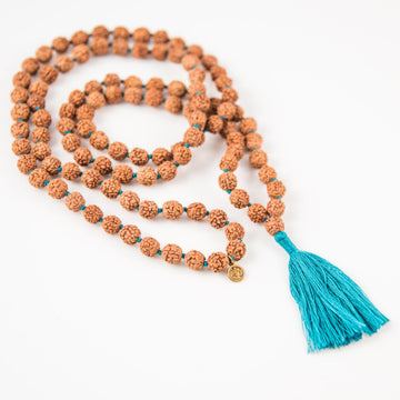 Practice Mala with Colored Tassel - Bali Malas