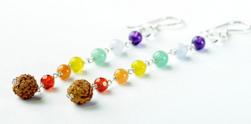 Chakra Earrings - Bali Malas