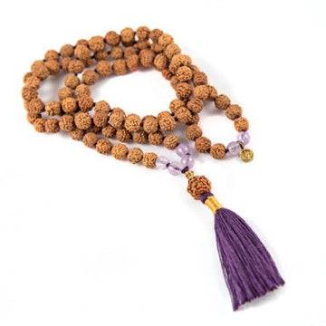 Ajna/Third Eye 6th Chakra Mala - Bali Malas