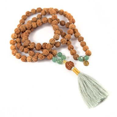 Anahata / Heart or 4th Chakra Mala - Bali Malas