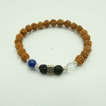 Cancer Cosmic Diffuser Bracelet + Essential Oil (Dana Damara) - Bali Malas