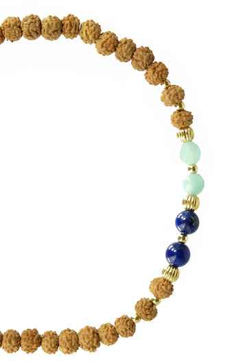 I am Calling IN A STRONG VOICE malas bracelet