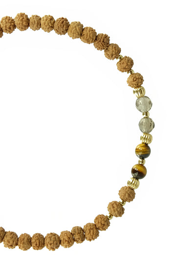 I am Calling IN FIERCE DISCIPLINE malas bracelet