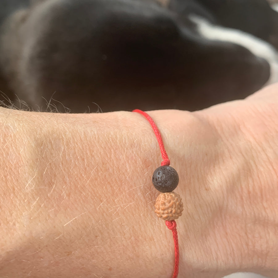 ONE Collective Heartbeat Bracelet (lava)- 100% donated to our Frontline Warriors