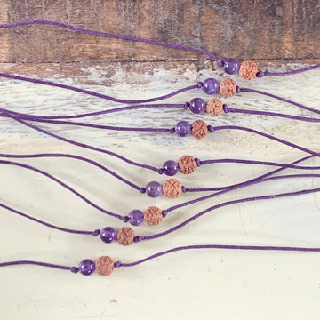 ONE Collective Heartbeat Bracelet (amethyst) - 100% donated to our Frontline Warriors