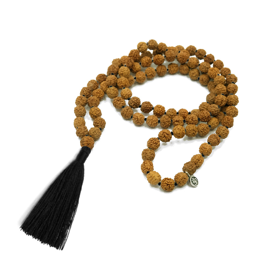 Practice Malas with Black Colored Tassel