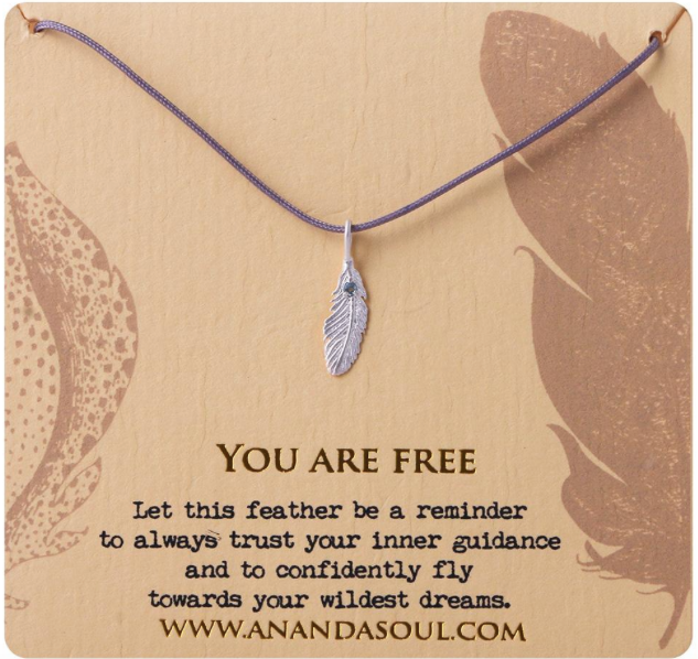 You are Free necklace by Ananda Soul - Bali Malas