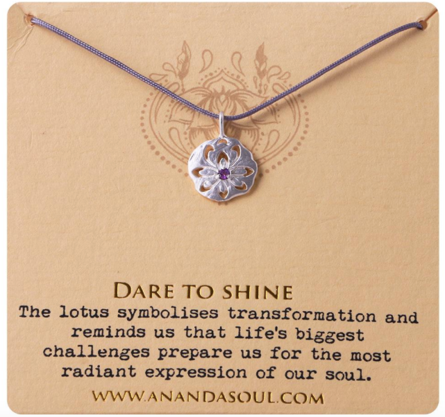 Dare to Shine necklace by Ananda Soul - Bali Malas