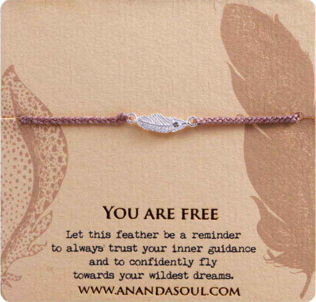You are Free bracelet by Ananda Soul - Bali Malas