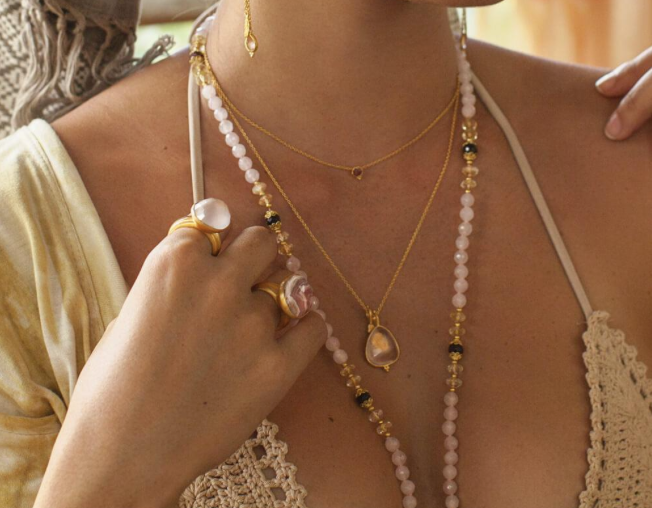 Tear of Joy necklace by Ananda Soul - Bali Malas