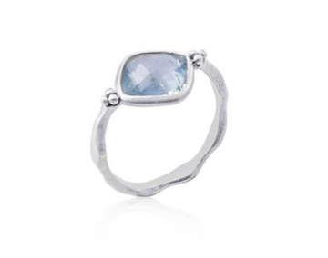 Tear of Joy Ring (silver) by Ananda Soul - Bali Malas