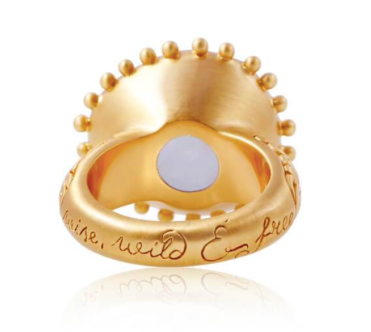 Wild, wise and free ring (gold) by Ananda Soul - Bali Malas
