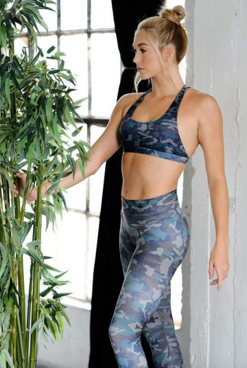 Camo High Waisted Leggings by Niyama Sol (limited edition) - Bali Malas