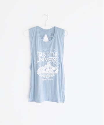 Trust the Universe tank by Karma Collective - 3 color options