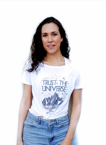 Trust the Universe V Back T-shirt
