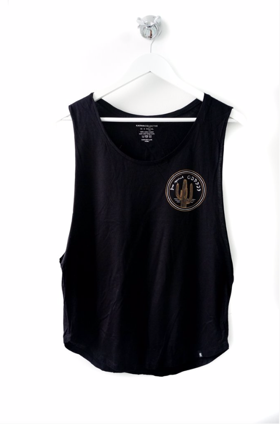 Free Spirit Muscle Tank Top