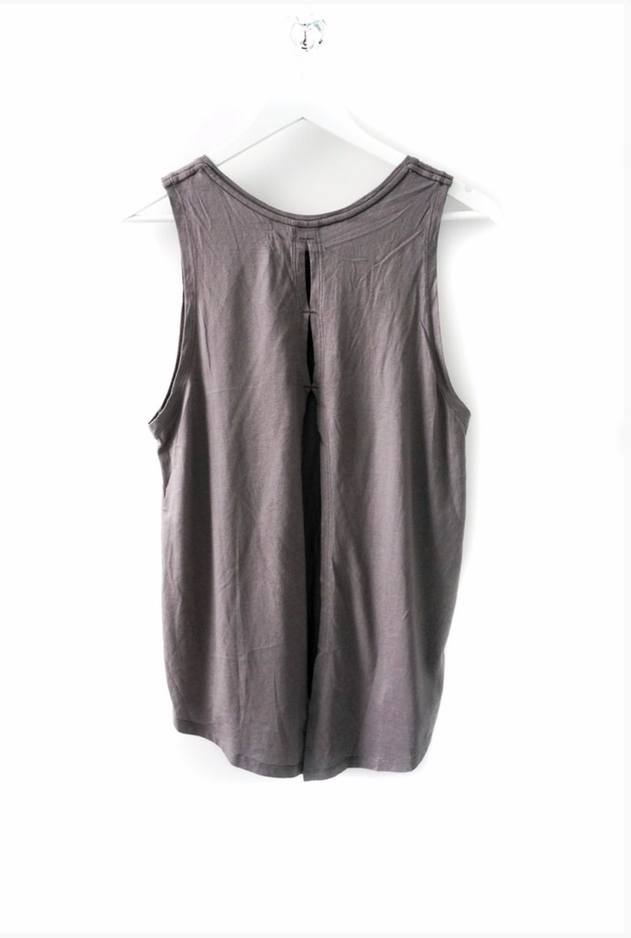 Day Dreamer Grey Super Soft Ladies Tank Top
