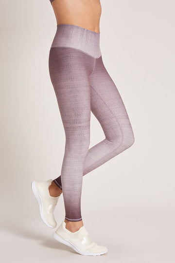 Dip Dye Lavender Latte Leggings by Niyama Sol