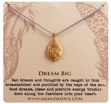 Dream Big necklace by Ananda Soul - Bali Malas
