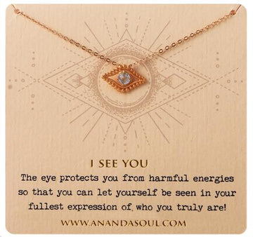 I See You necklace by Ananda Soul - Bali Malas