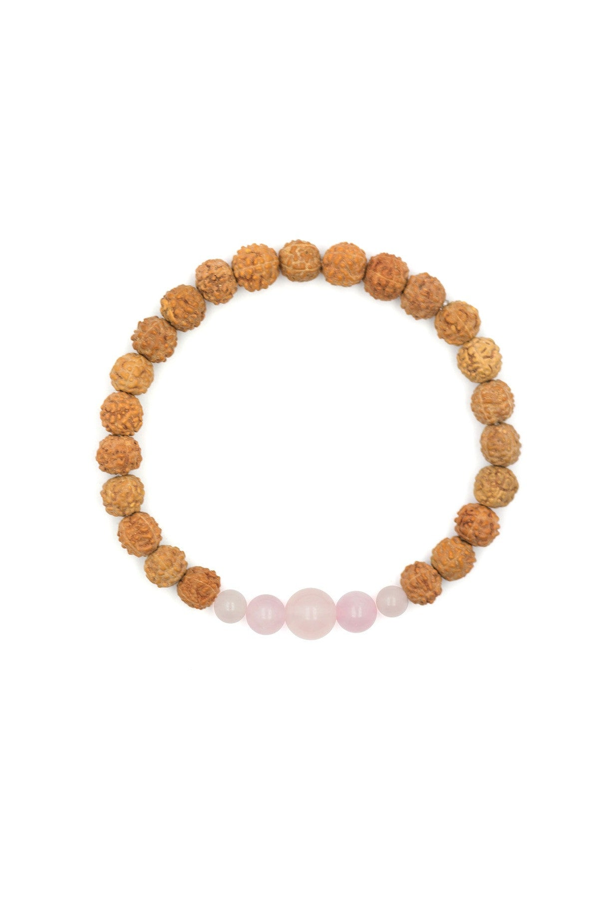 rose gemstones malas quartz mala bracelet friendly products bali