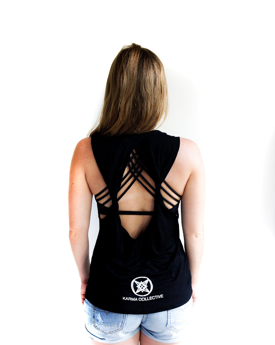 Love is all you need Open Back Tank top