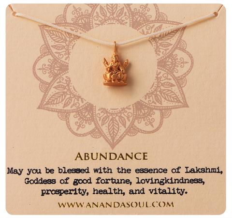 Abundance necklace by Ananda Soul - Bali Malas
