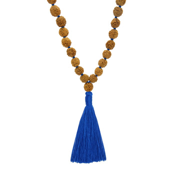 Practice Malas with Blue Colored Tassel