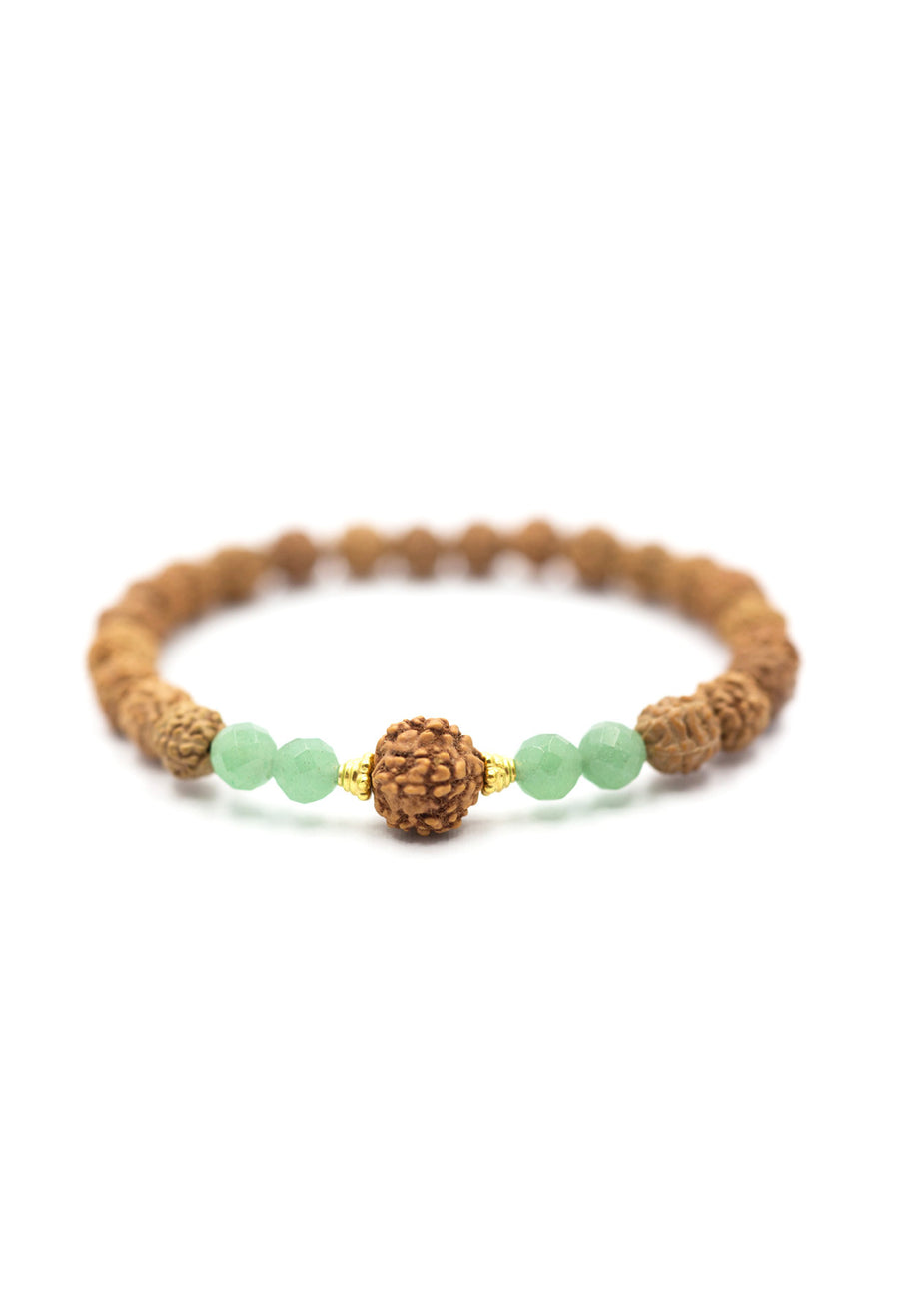 Anahata / Heart or 4th Chakra Bracelet - Bali Malas
