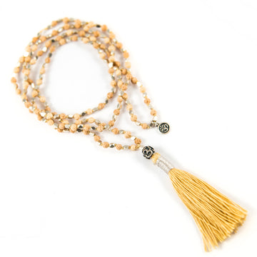 Muse mala in sterling silver - Bali Malas