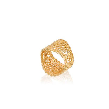 Soul Dance Ring (gold) by Ananda Soul - Bali Malas