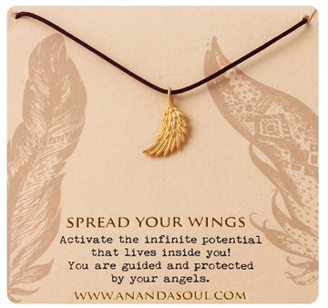 Spread Your Wings necklace by Ananda Soul - Bali Malas