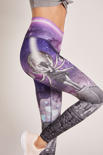 I understand (7th chakra) Leggings by Niyama Sol