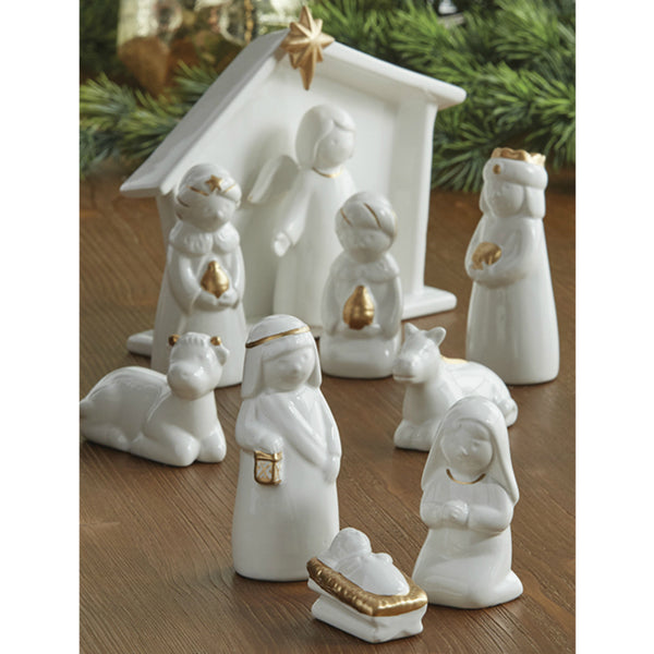 Nativity Scene - Set of 10